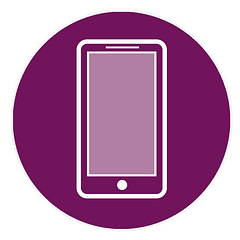 An illustration of a cellphone.