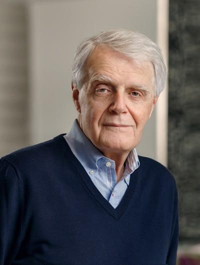 A photograph of Dr. Carl Laskin.