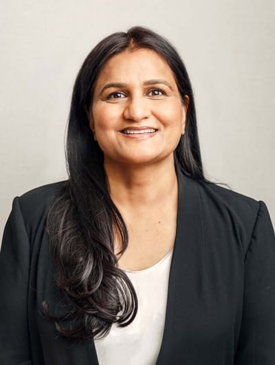 A photograph of Dr. Chaula Mehta.